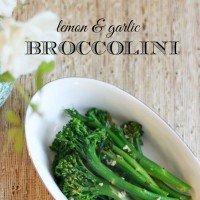 Lemon & Garlic Broccolini