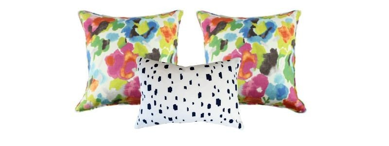 just four things pillows