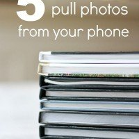 5 Reasons to Pull Photos From Your Phone