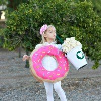coffee and donut costume