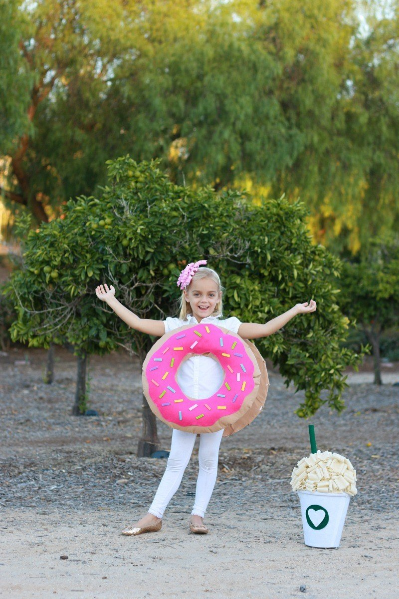 Coffee & Donut Costume - A Thoughtful Place