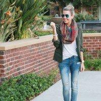 Fall Fashion Finds & Plaid Scarves