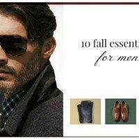 10 Fall Essentials for Men