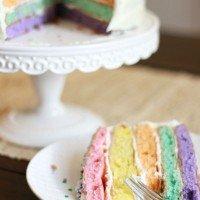 rainbow cake tradition
