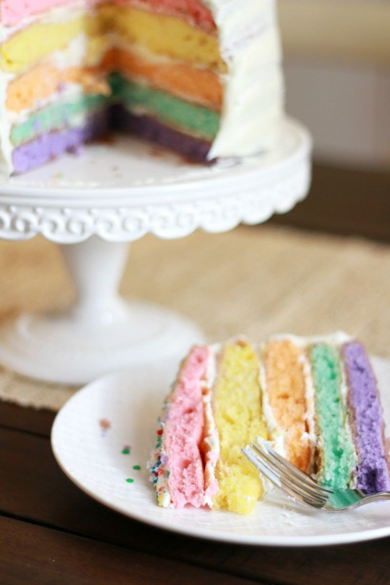 rainbow cake tradition
