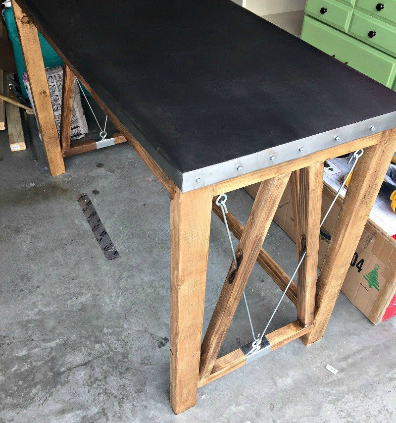 diy industrial desk