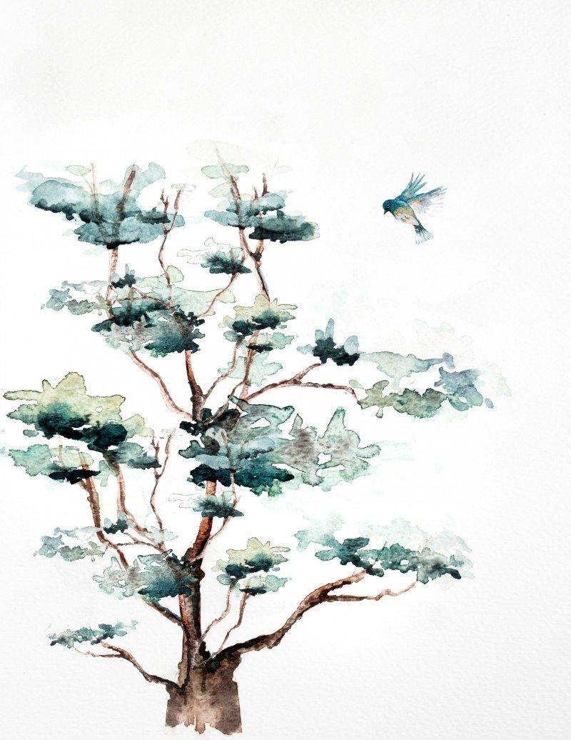 bluebirdwatercolorforcourtney