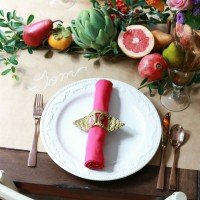Thanksgiving Table – Bright & Bold