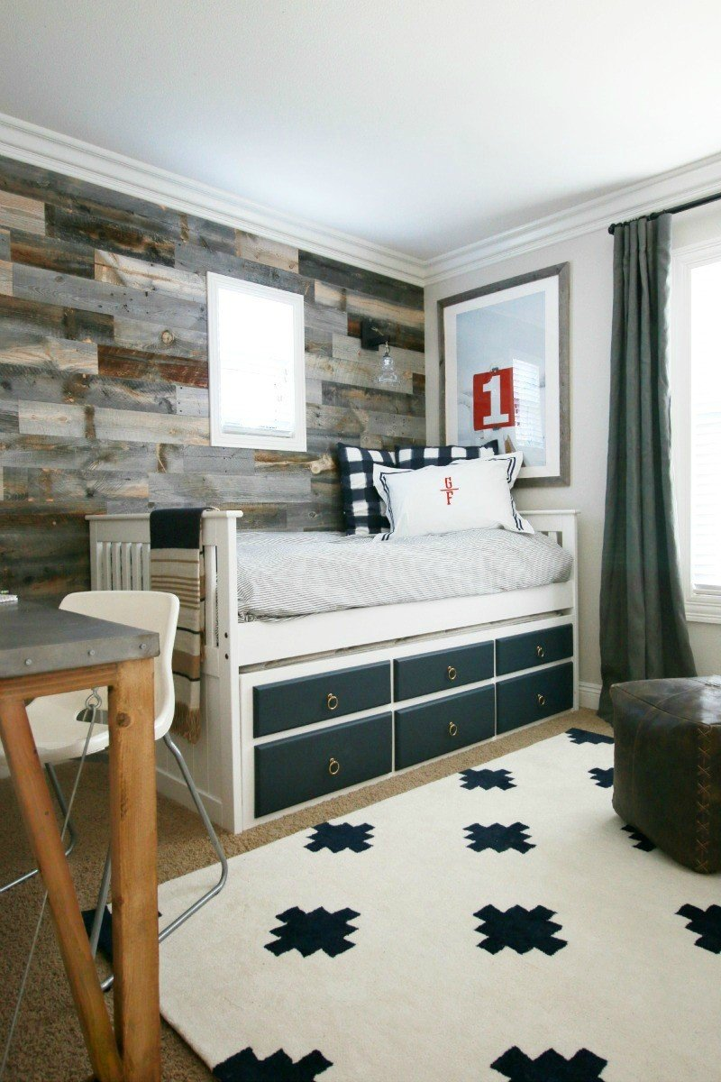 rustic bedroom reveal