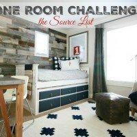 One Room Challenge 2015 – Source List