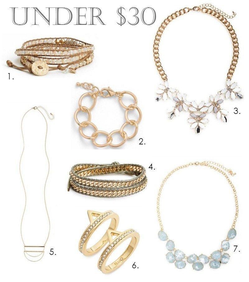 jewelry under $30