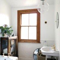 Friday Eye Candy | Small Bathrooms