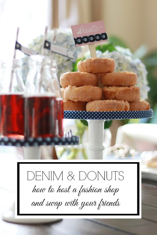 denim and donuts