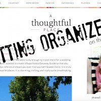 Organization | Around the Blog