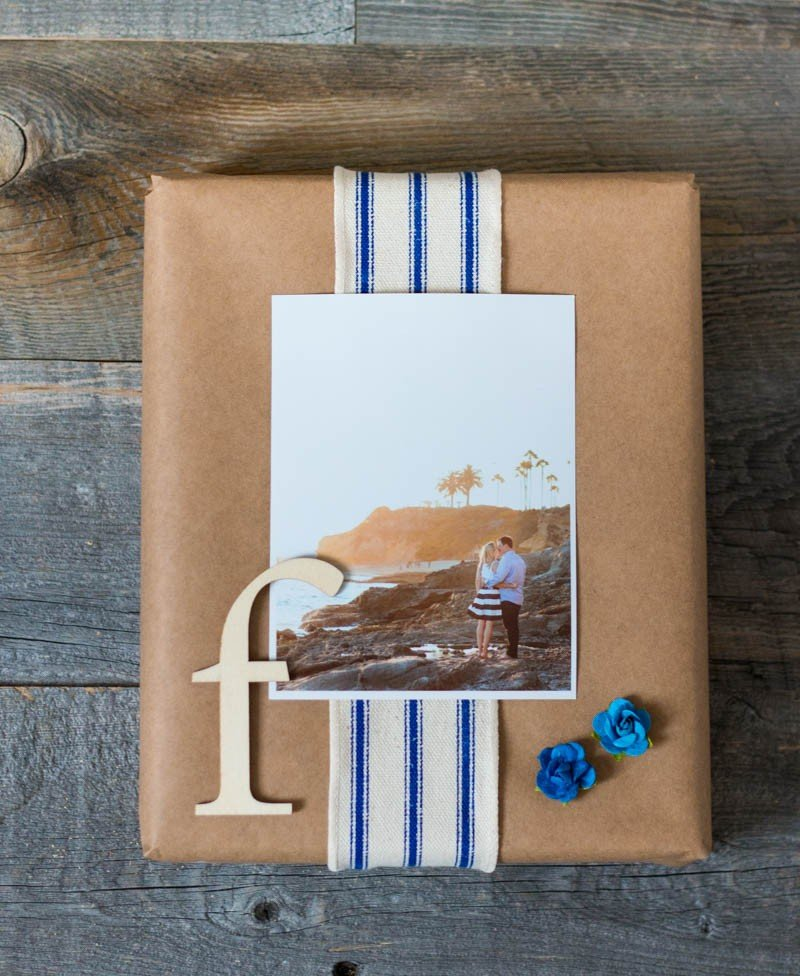 gift with photograph