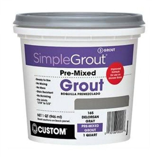 simple grout . . 5 tips