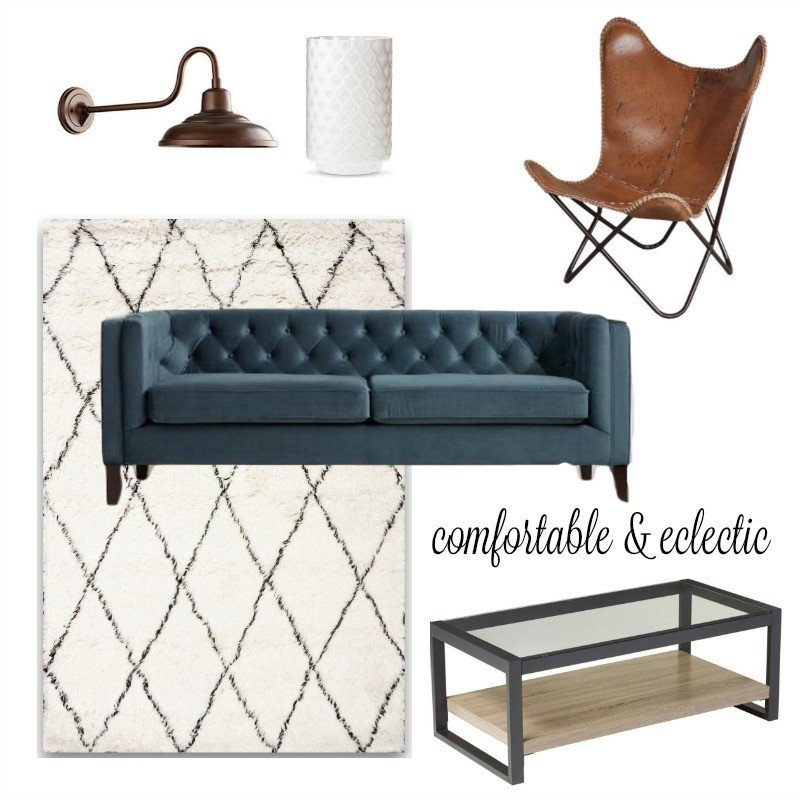 comfortable & eclectic