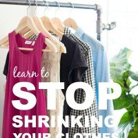 Stop Shrinking Your Clothes