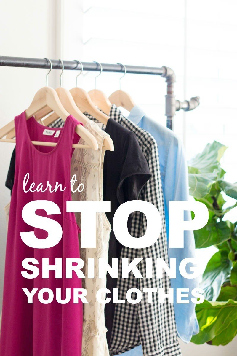 stop shrinking clothes
