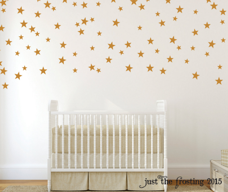 Fancy wall decals