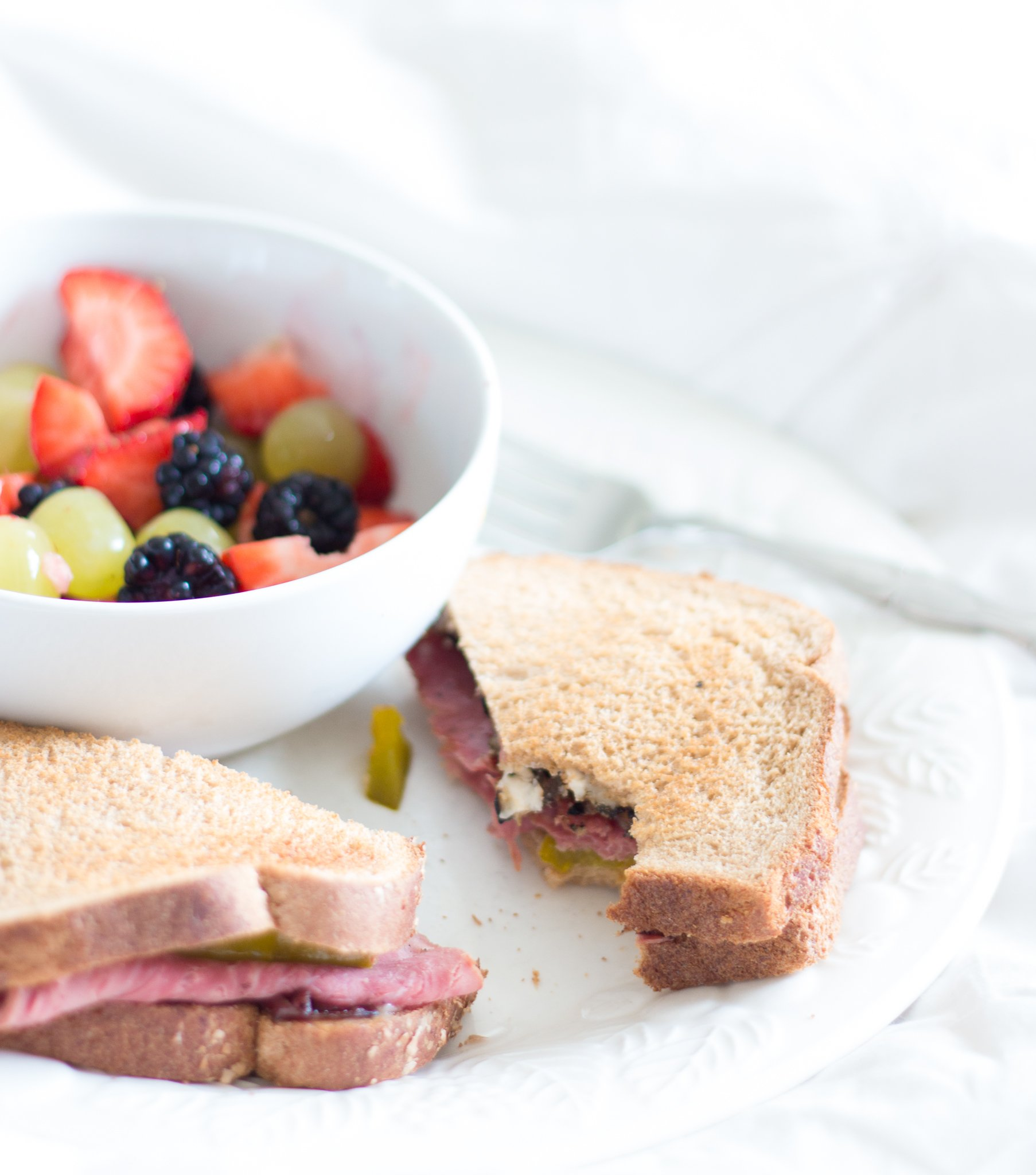 Roast Beef and Brie Sandwich - A Thoughtful Place