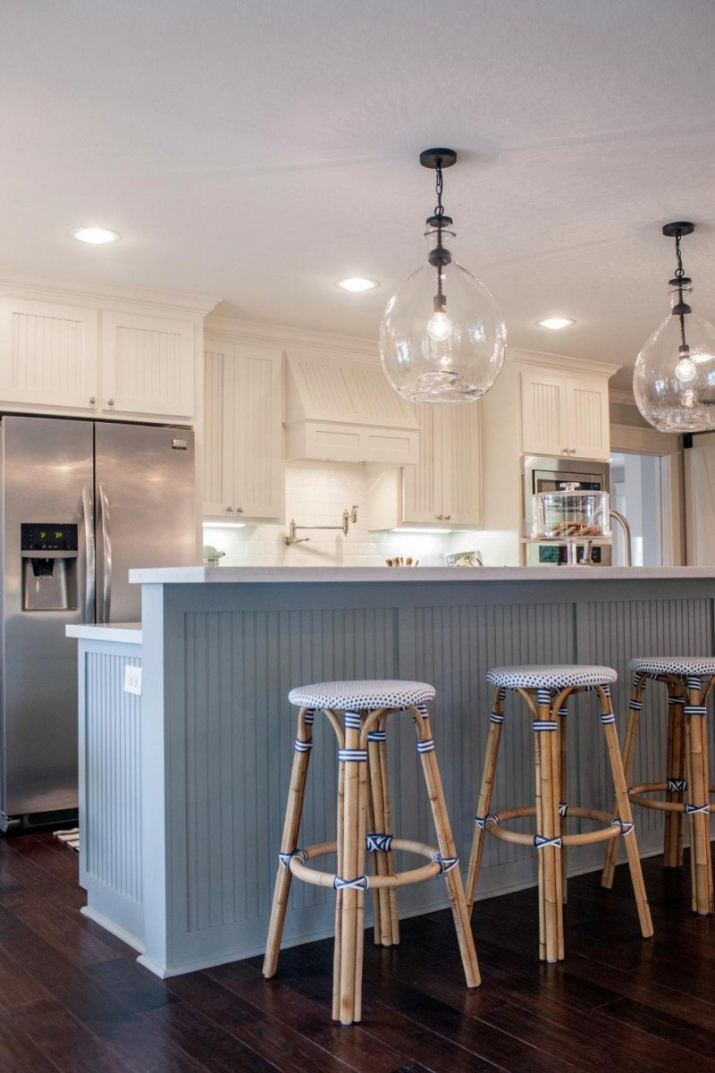 Fixer upper kitchen island pictures - Fixer Upper Kitchen Lighting Fixer Upper1