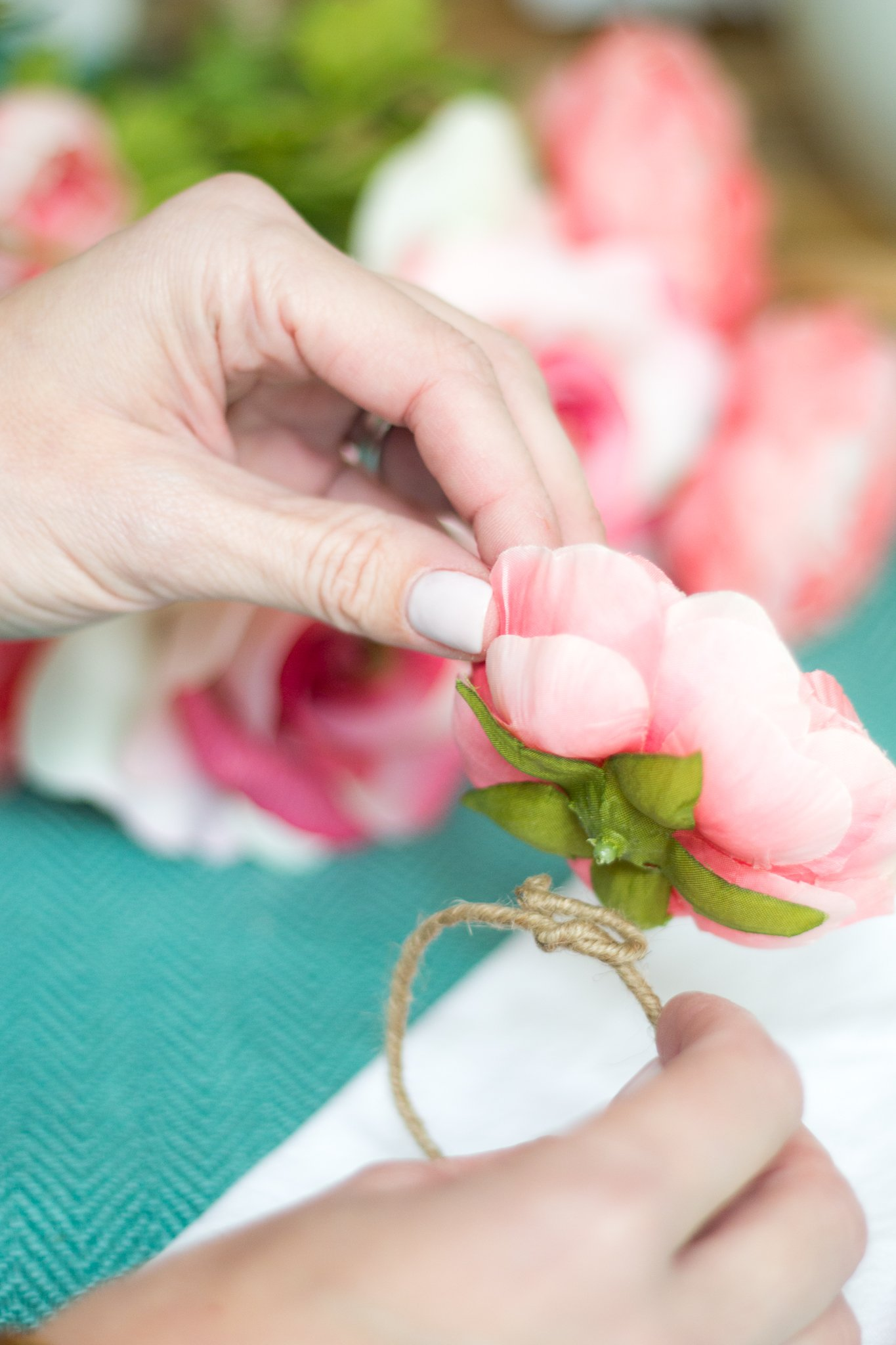 DIY Napkin Rings - A Thoughtful Place