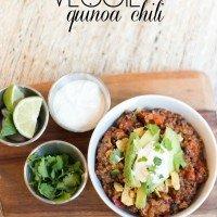 Veggie Quinoa Chili