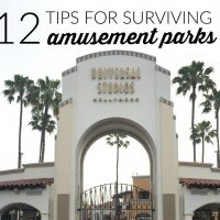 12 Tips for Surviving Amusement Parks