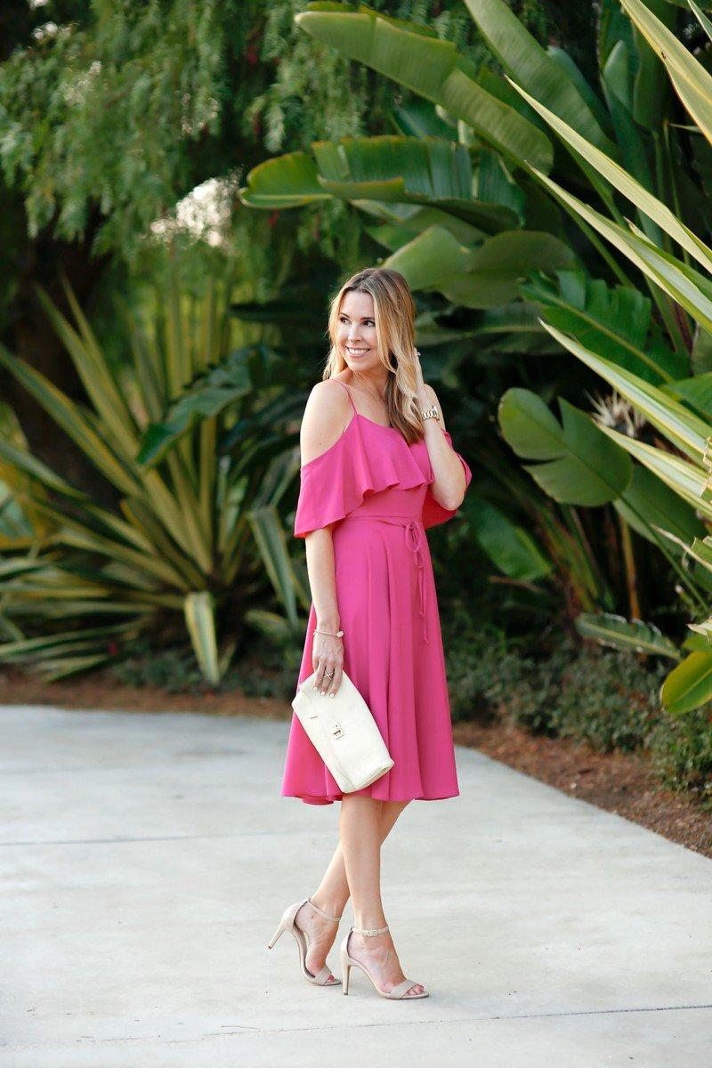 off the shoulder dress-3