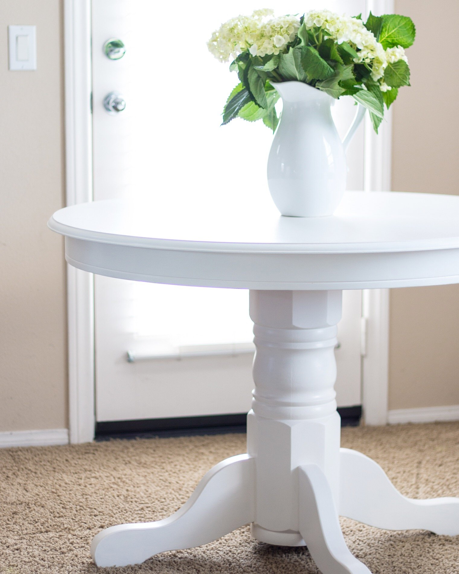 How to Paint a Table - A Thoughtful Place