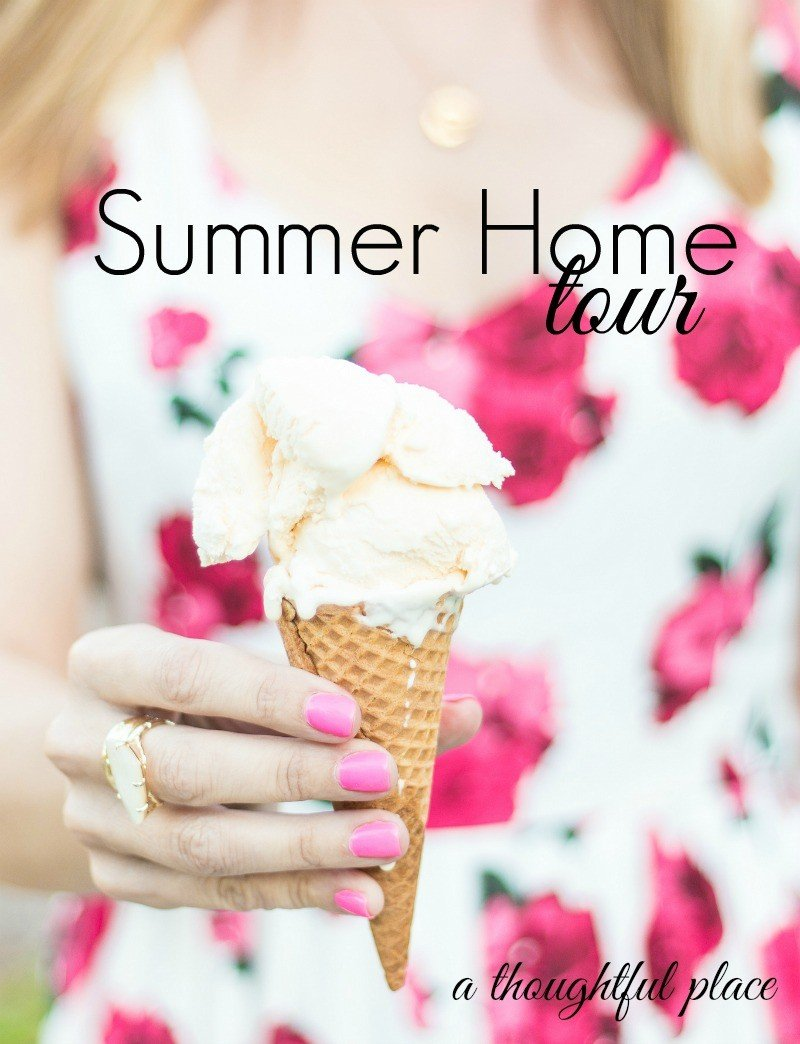 summer home tour welcome