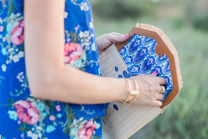 blue floral top-4