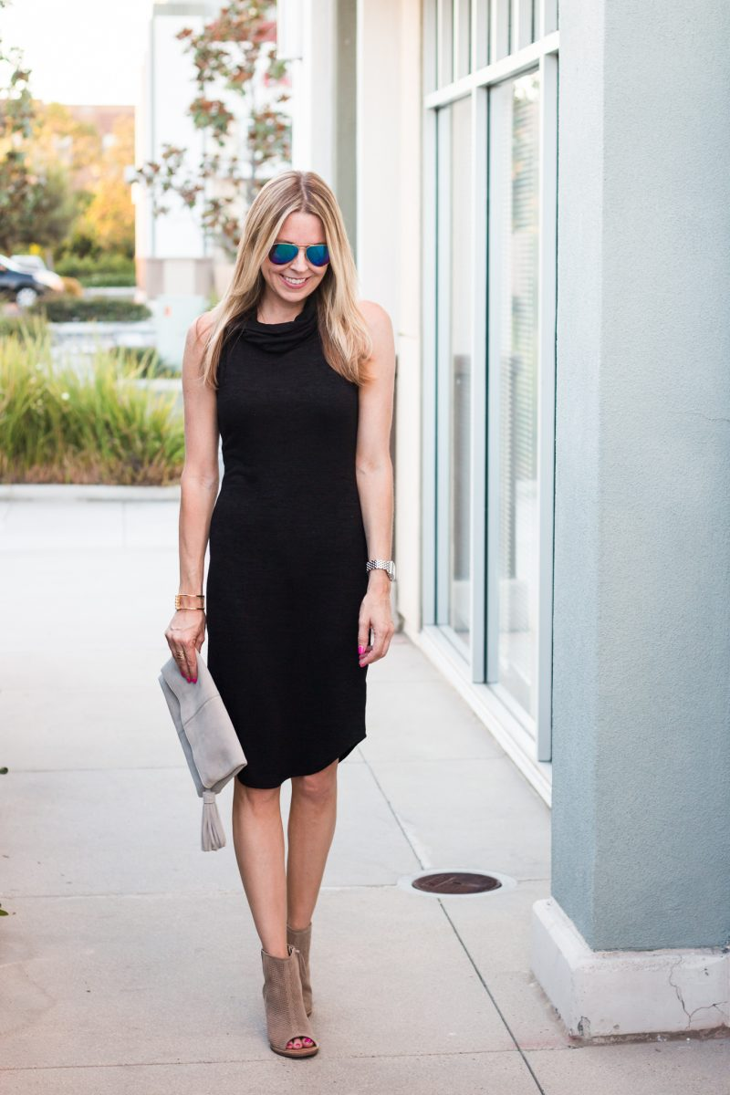 nsale black dress-5