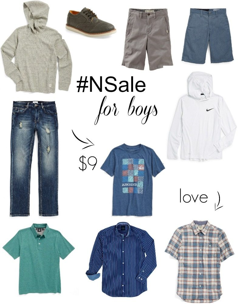 nsale for boys