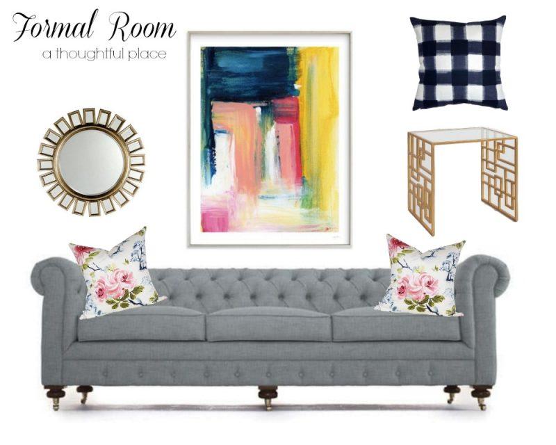 Formal Room | Design Direction