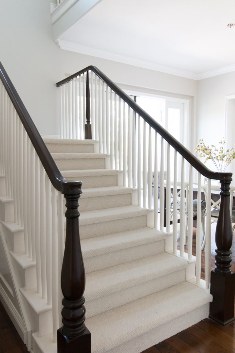 Lighting Basement Washroom Stairs: Choosing What To Put On Our Stairs