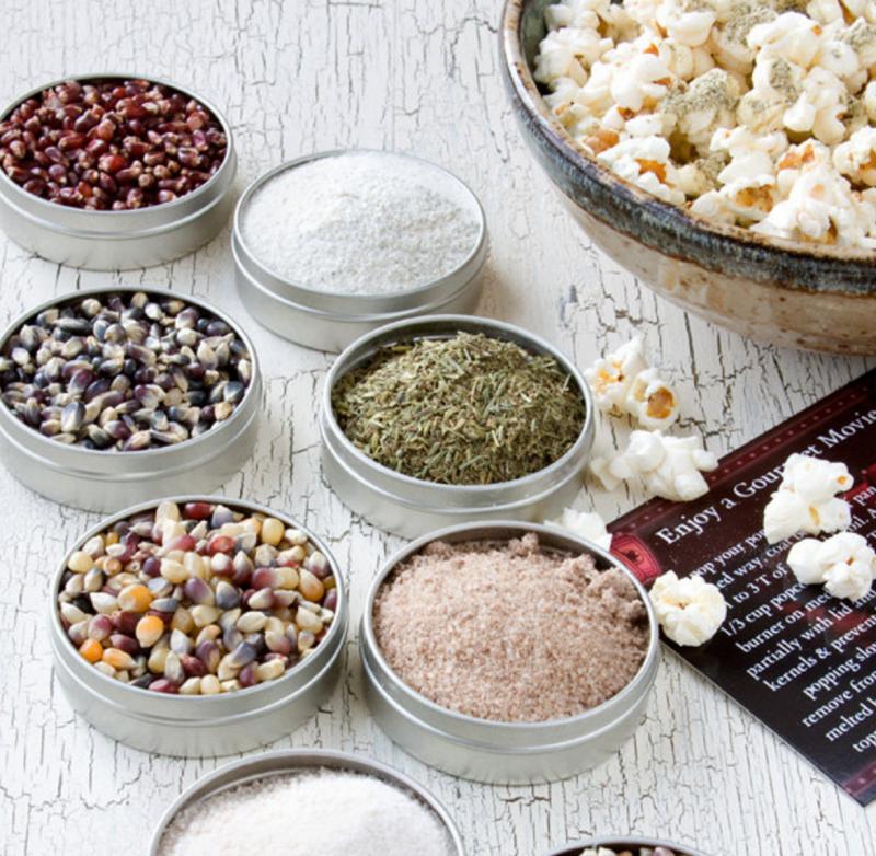 popcorn sampler