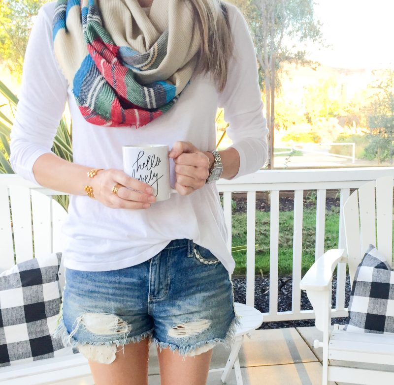 saturday-shopping-scarf-and-tee