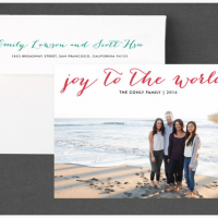 Minted Holiday Card Giveaway
