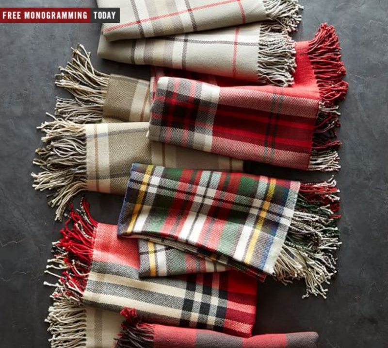 plaid throws
