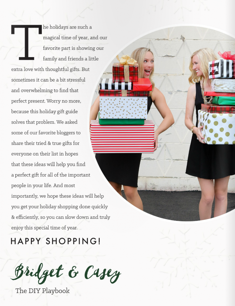 diy playbook holiday gift guide