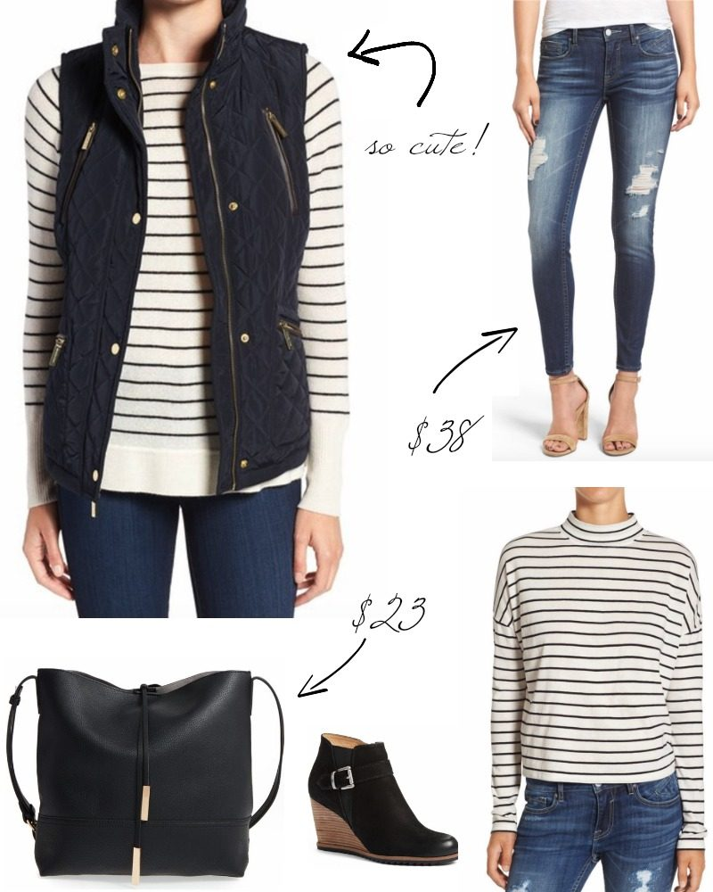 striped-t-and-vest-collage