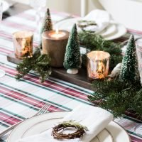 Traditional Christmas Table
