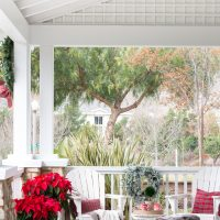 A Christmas Front Porch