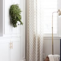 How to Make Hidden Tab Drapes