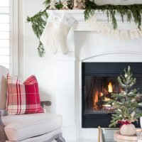 Decked & Styled Holiday Living Room