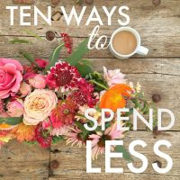 Five Ways to Spend Less Money