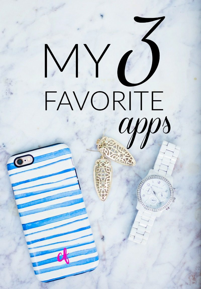 My 3 Favorite Apps Right Now