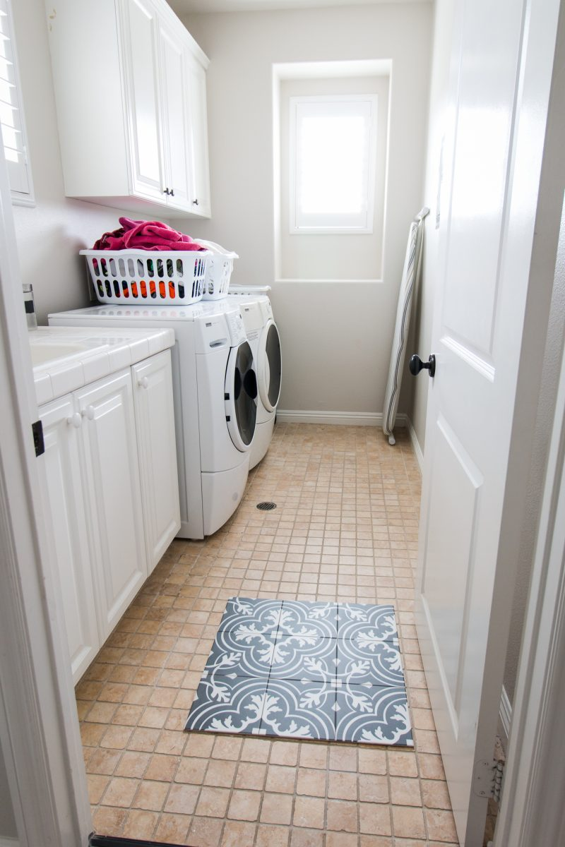 laundry room plans - a thoughtful place Adding Cabinets to Laundry Room